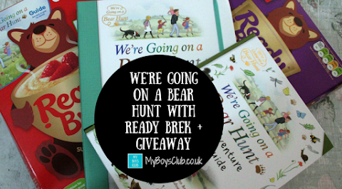 Going on a Bear Hunt with Ready Brek (AD)