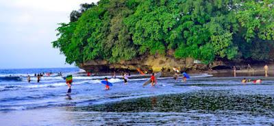 Keindahan Tempat Wisata Pantai Batu Karas Ciamis Jawa Barat Tempat Wisata Terbaik Yang Ada Di Indonesia: Keindahan Tempat Wisata Pantai Batu Karas Ciamis Jawa Barat