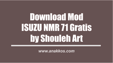 Download Mod Isuzu NMR 71 Gratis Free By Souleh Art