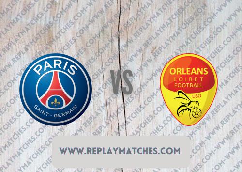 PSG vs Orléans -Highlights 24 July 2021