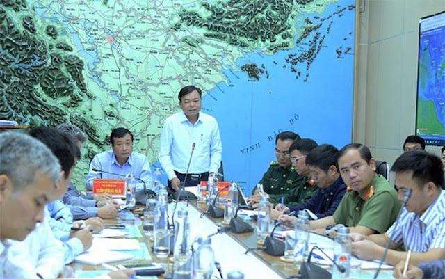 Bão số 5 giật cấp 11 di chuyển nhanh, tối nay đổ bộ đất liền Quảng Ngãi đến Khánh Hoà