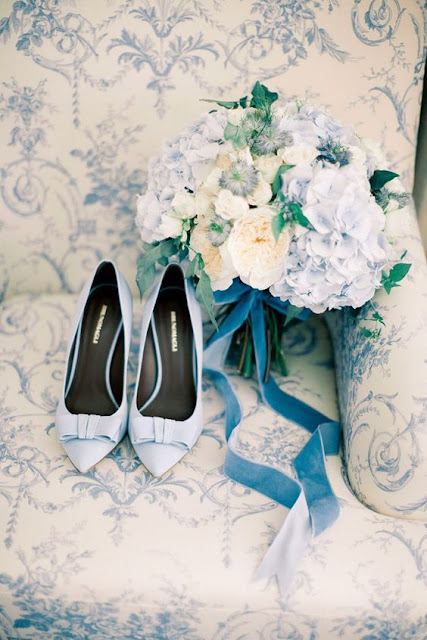 zapatos novia azul serenity