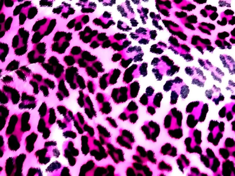 Pink and white cheetah print background