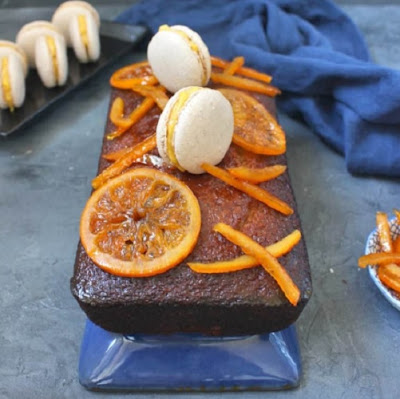 Spiced Honey Cake with Orange Glaze by A Baking Journey
