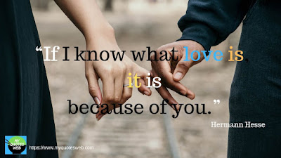 Beautiful Short Love Quotes - If I know what love