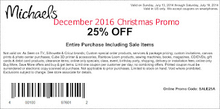 Michaels coupons december 2016