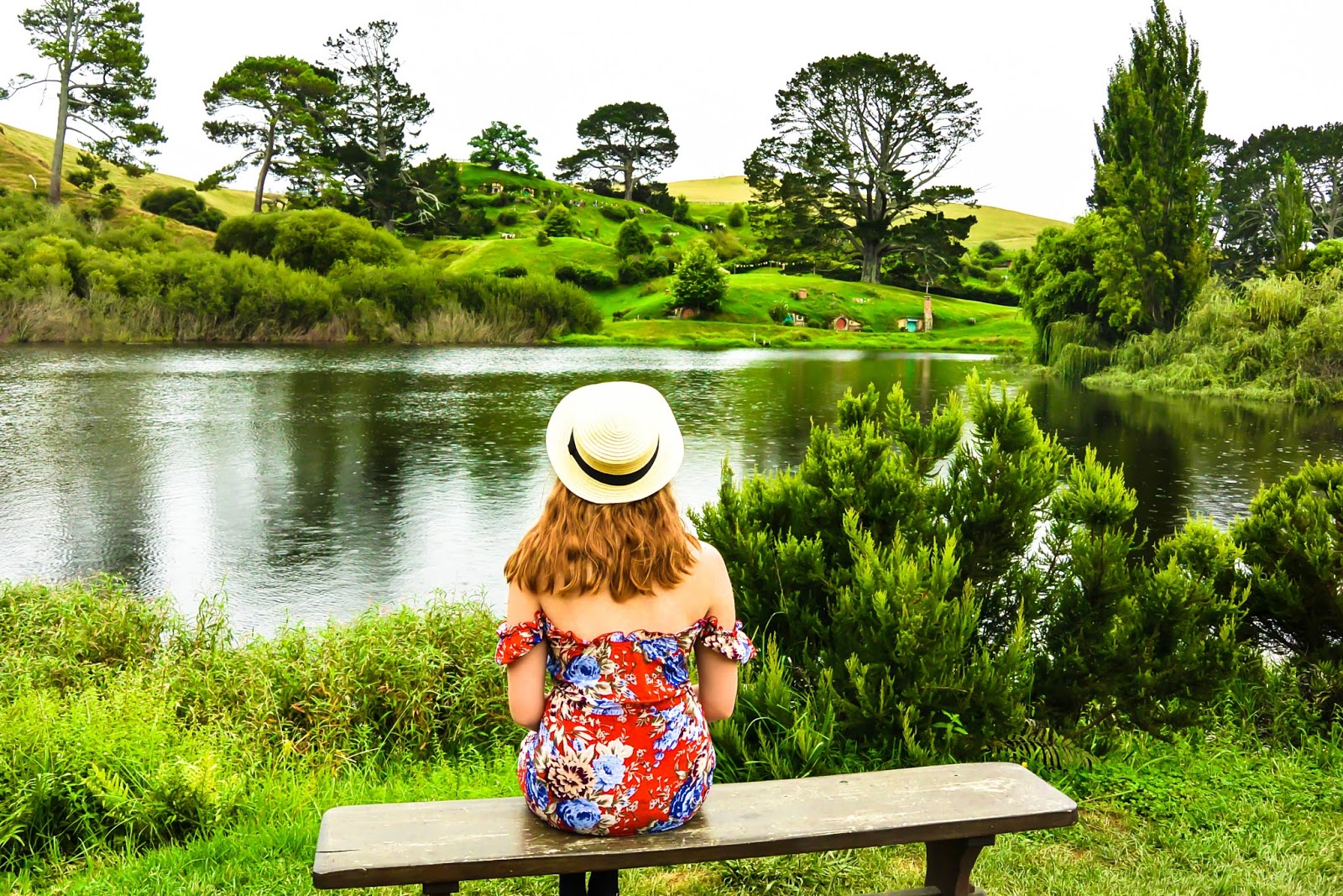 Things to do in Rotorua New Zealand : Lord of the Rings Hobbiton movie set tour