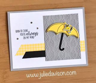 Stampin' Up! Under My Umbrella CASE ~ www.juliedavison.com