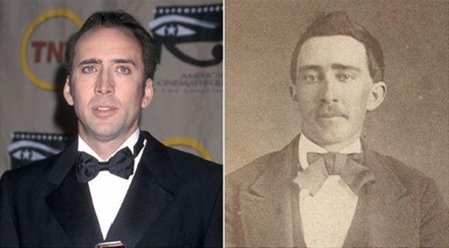 Reencarnação? O que essas pessoas de 100 anos atrás tem a ver com esses famosos?