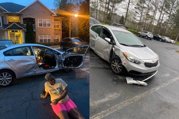 Horrific Domestic violence: Man beats his girlfriend and ties her to the car steering and Kidnapped her
