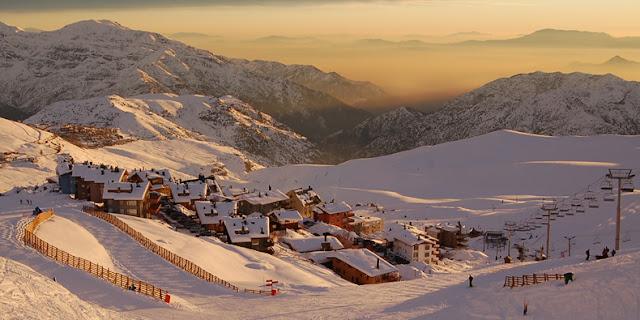 Esportes de neve em Santiago