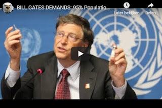 Bill Gates Demands 95% Population
