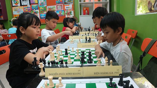 Lớp học cờ vua cho thiếu nhi tại quận 11 Tp HCM