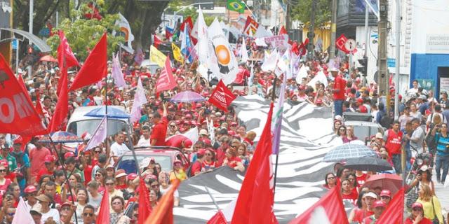 Fortaleza em 28 de Abril de 2017,greve geral e grandiosa.