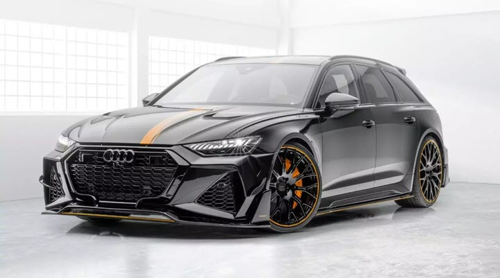 Audi RS6 Avant 2020 – siêu phẩm của Mansory