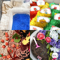 Sensory Bins for the Year