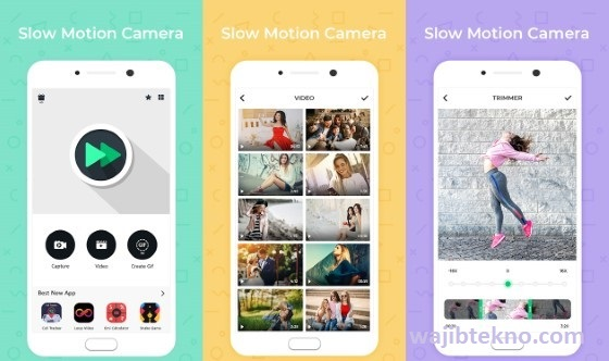 slow motion- cam video recorder