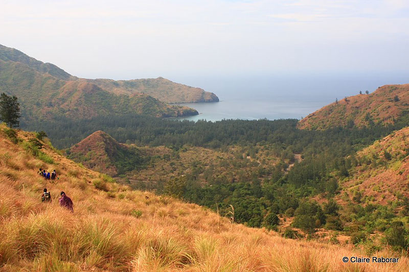 Mount Pundaquit in Anawangin Cove Zambales