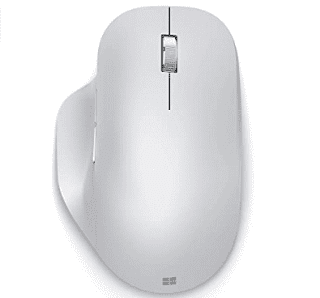 Microsoft Bluetooth Ergonomic Mouse in Glacier White - $30.99 Shipped Free