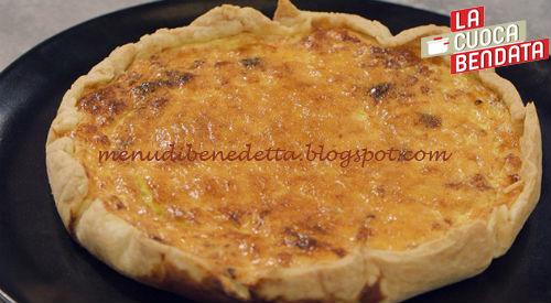 La Cuoca Bendata - Quiche Lorraine ricetta Parodi