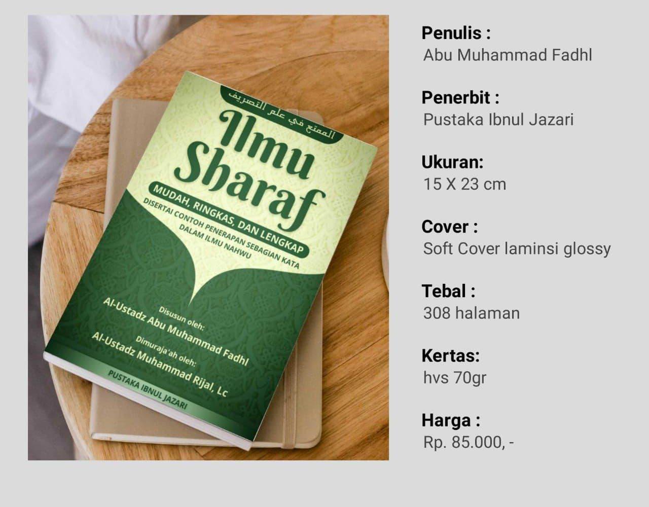 Buku Ilmu Sharaf Pustaka Ibnul Jazari