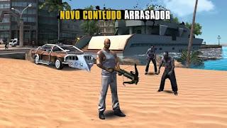 Gangstar Rio Cidade dos Santos apk mod dinheiro infinito