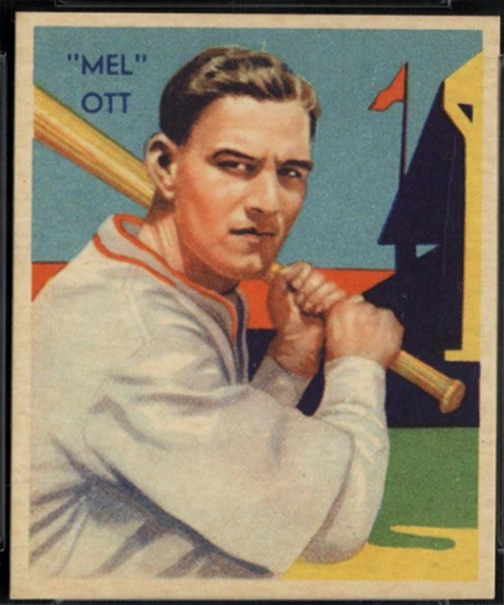 Baseball Sisco Kid Style Mel Ott Joins The 500 Home Run Club