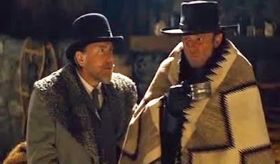 Tim Roth-Walton Goggins- The Hateful Eight