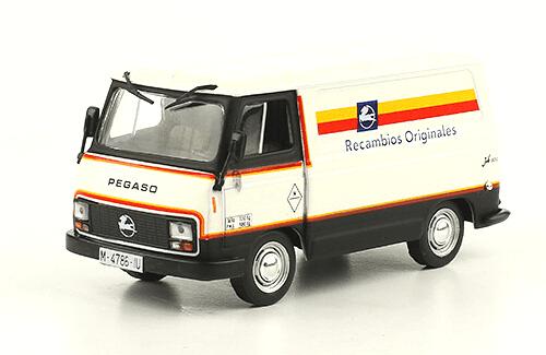 Pegaso Sava J-4 Recambios originales 1:43 camiones pegaso salvat