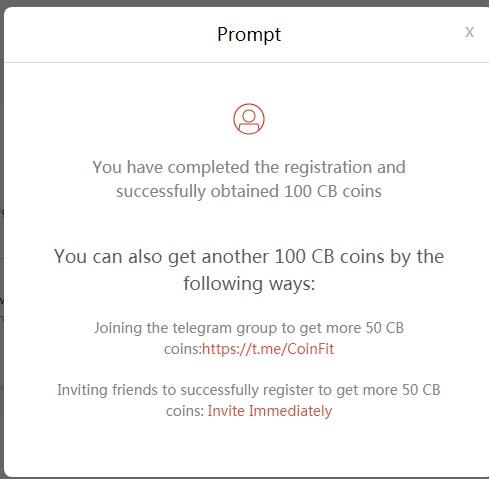 Nhận CB coin miễn phí