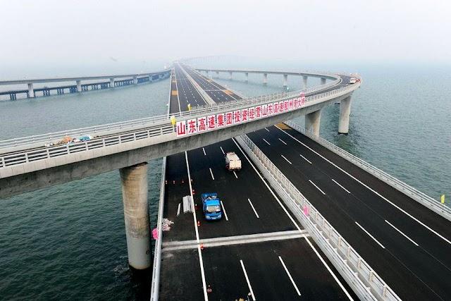 Мост через залив Цзяочжоу