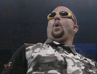 WWF Insurrexion 2000 - Bubba Ray Dudley with Rikishi's glasses