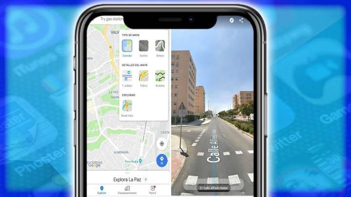 Cómo dividir la pantalla en Google Maps para usar Street View