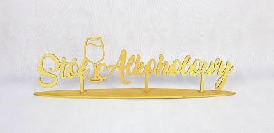 napis stół alkoholowy wypożyczalnia dekoracji rzeszów ślubnażyczenie