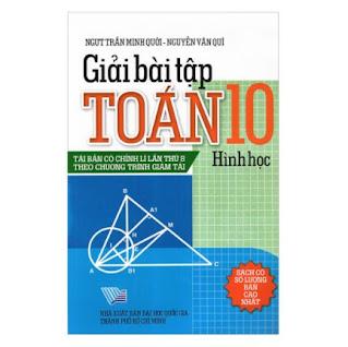 Giải Bài Tập Toán - Hình Học Lớp 10 ebook PDF-EPUB-AWZ3-PRC-MOBI