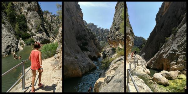 camino de acceso a la Fontcalda