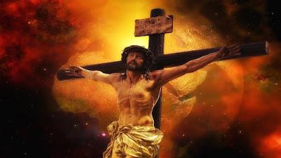imagem de Jesus Cristo na Cruz
