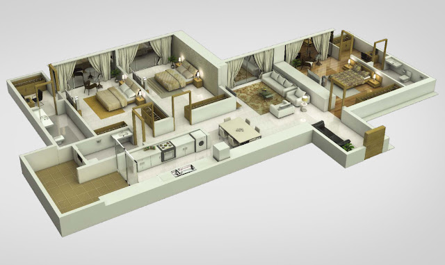 Sunteck Westworld Floor Plan