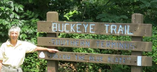 Buckeye Trail southern terminus