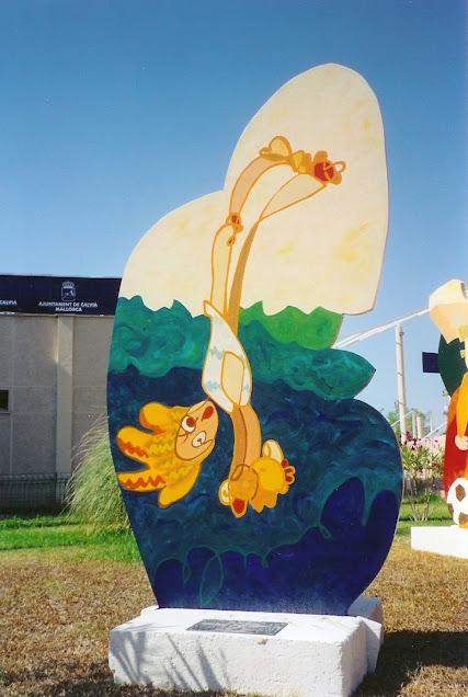 Painted Sculpture - Rosemary Marchetta
