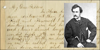 A Signed Letter from John Wilkes Booth