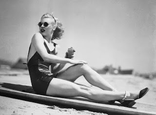 Ginger Rogers In A Bathing Suit
