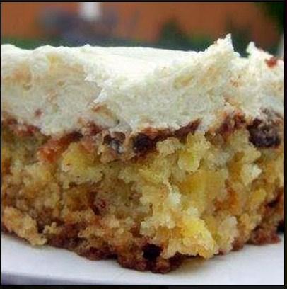 Pineapple Cake Using Cake Mix With Cream Cheese