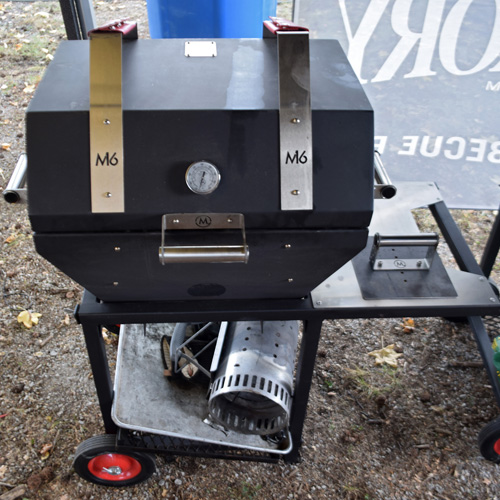 M6 used in a steak contest at the 2019 Praise The Lard BBQ Contest