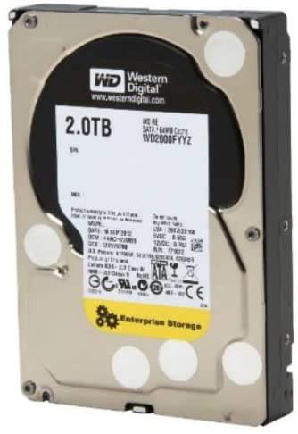WD RE 2 TB Enterprise WD2000FYYZ Hard Drive