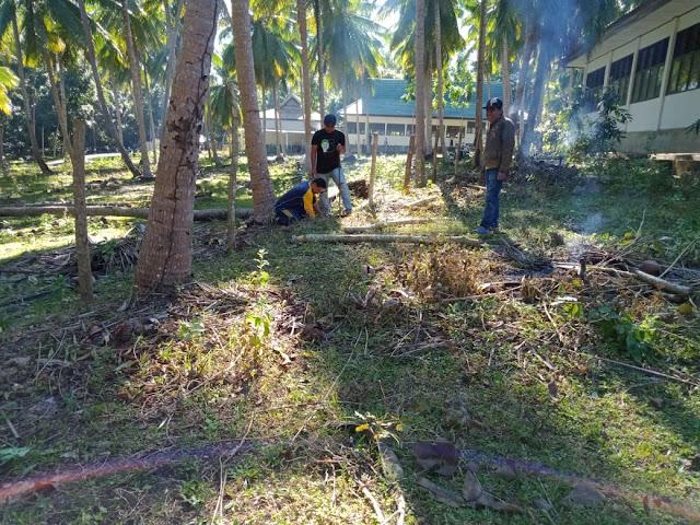 SMKN 2 Selayar, Rutin Gelar Jumat Bersih Dilingkingan Sekolah
