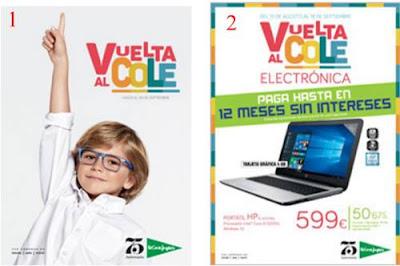 Vuelta Al Cole 2016 Catalogos El Corte Ingles