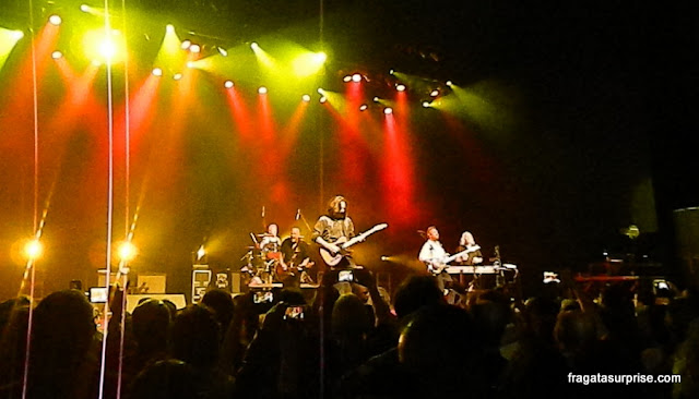 Show do Creedence em São Paulo, novembro de 2015