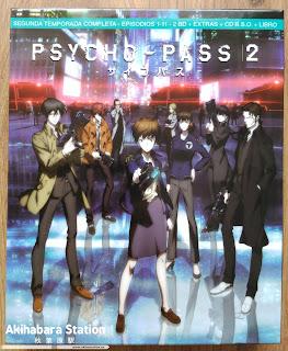 """Reseña de """"Psycho Pass 2"""" y """"Psycho Pass La Película"""" Ed. Blu-Ray Coleccionista, Selecta Visión"""