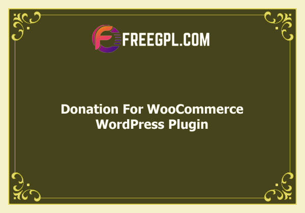 Donation for Woocommerce Free Download